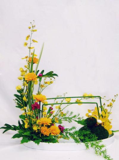 Một số cách cắm hoa tươi cơ bản 10