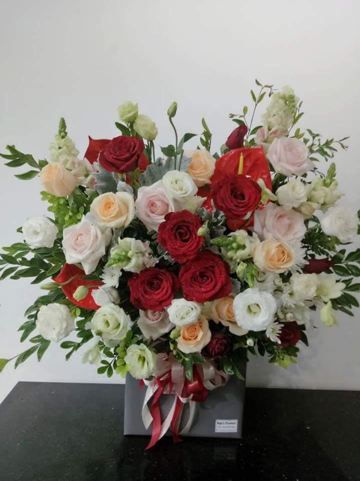 Một số cách cắm hoa tươi cơ bản 7