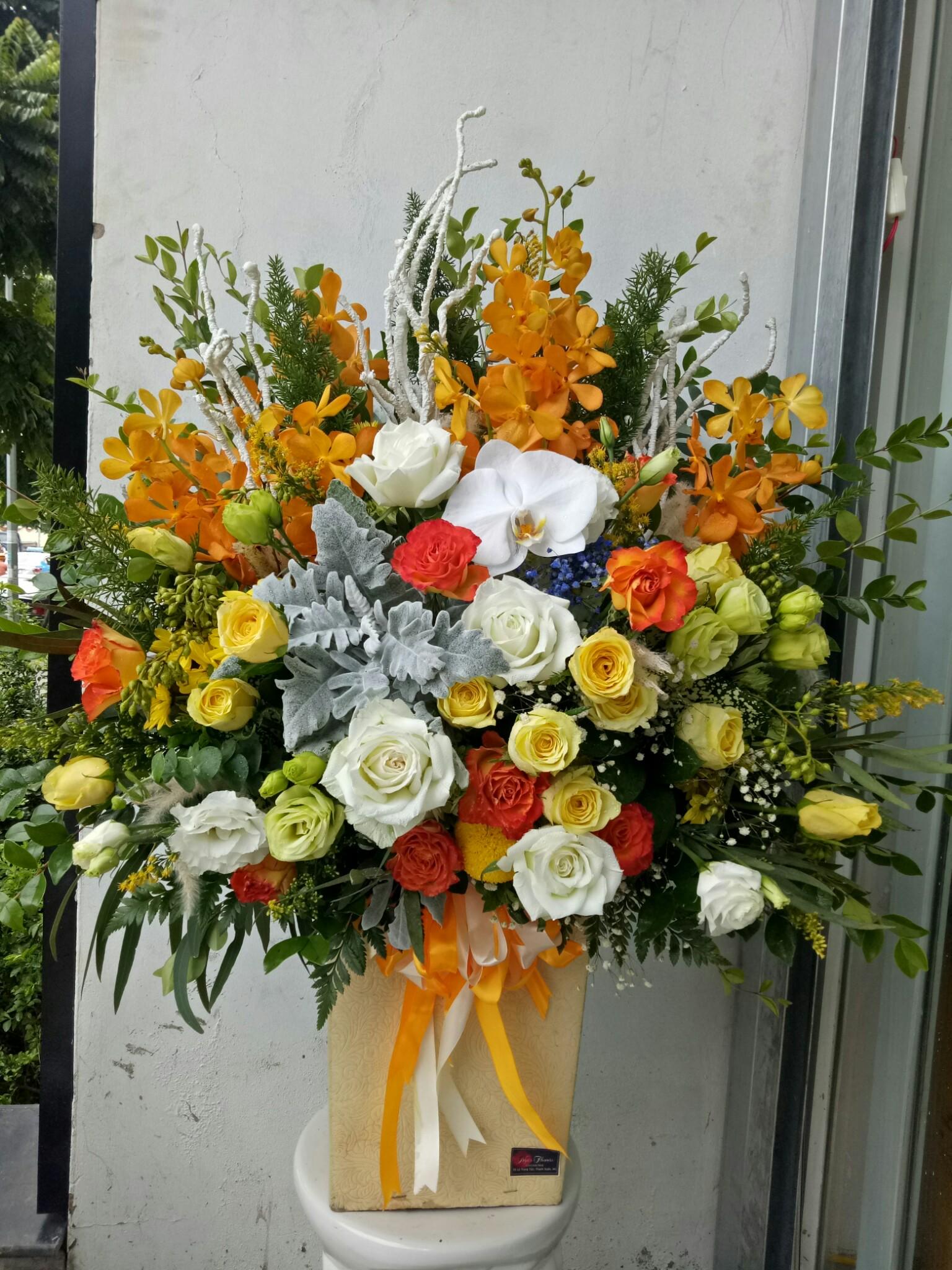 Hoa lẵng - MS264 1