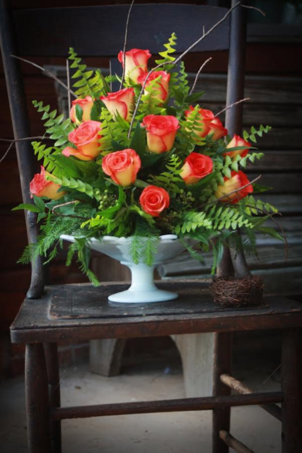 Một số cách cắm hoa tươi cơ bản 1