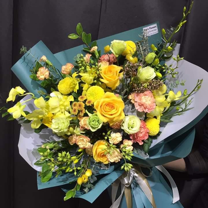 Một số mẫu hoa mới tạiNga's Flowers 6