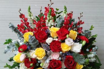 Một số mẫu mới của hoa tươi Nga's Flowers