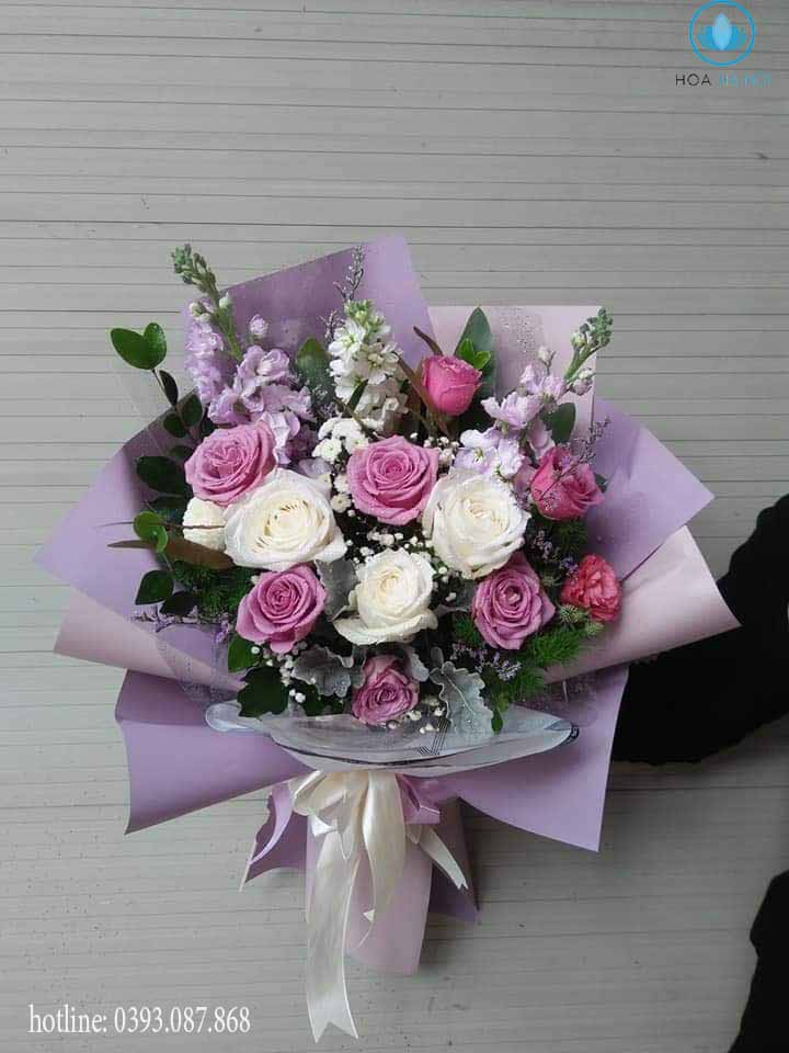 Những bông hoa tại Nga's Flower được nhập khẩu trực tiếp từ các cánh đồng hoa nức tiếng Thế Giới