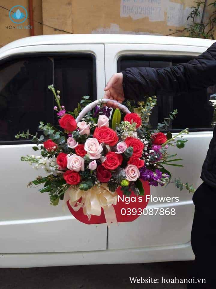 Cập nhật một số mẫu hoa mới tại điện hoa Nga's Flower 1