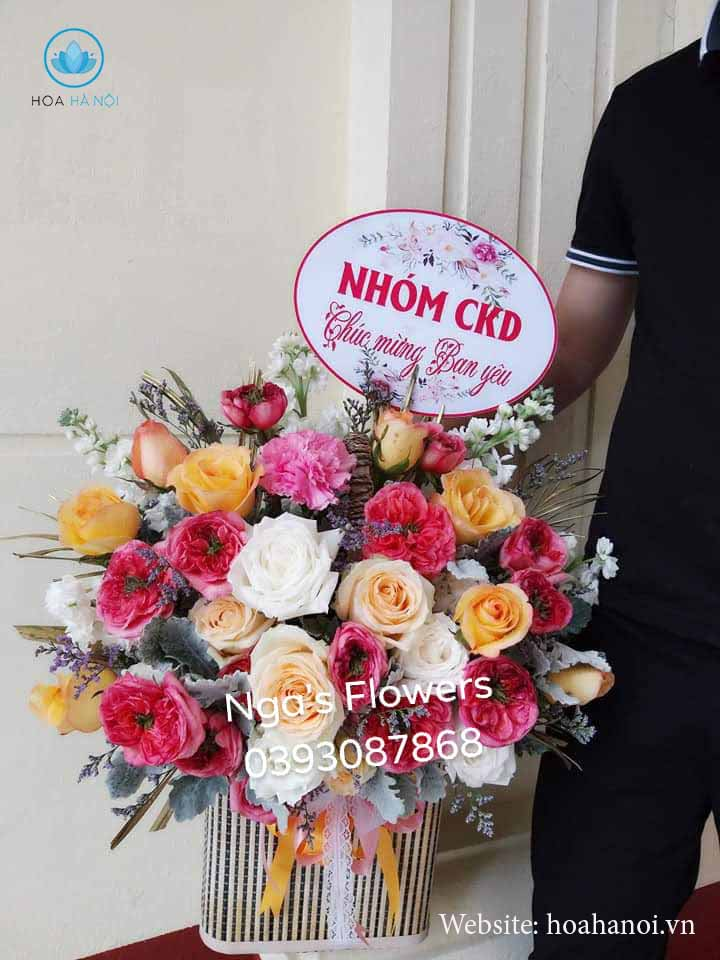 Một số mẫu hoa mới tạiNga's Flower 1