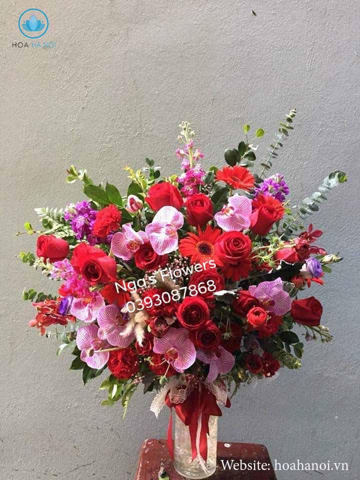 Một số mẫu hoa mới tạiNga's Flower 3