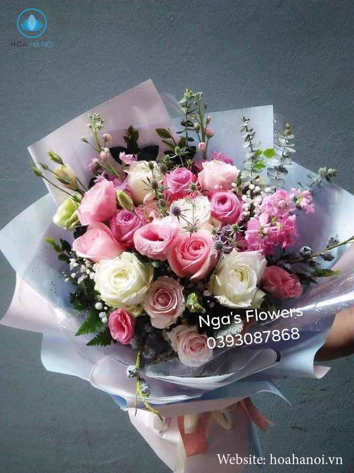 Một số mẫu hoa mới tạiNga's Flower 5