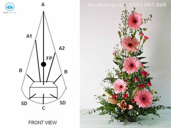 Kinh nghiệm cắm hoa tươi đơn giản 11