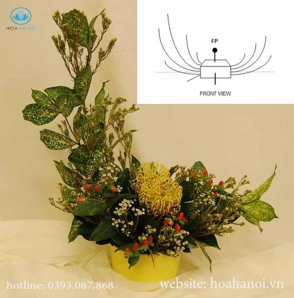 Kinh nghiệm cắm hoa tươi đơn giản 4