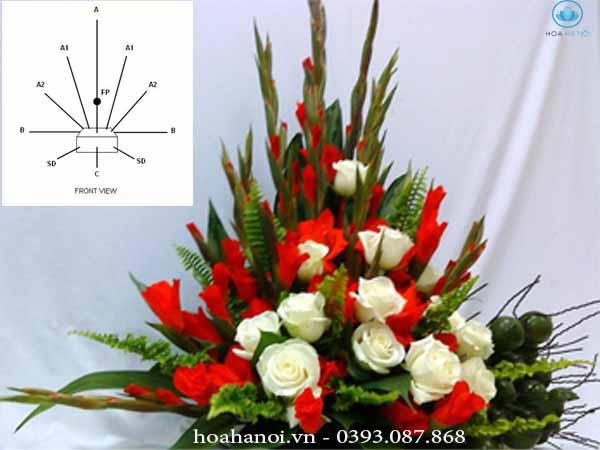 Kinh nghiệm cắm hoa tươi đơn giản 9
