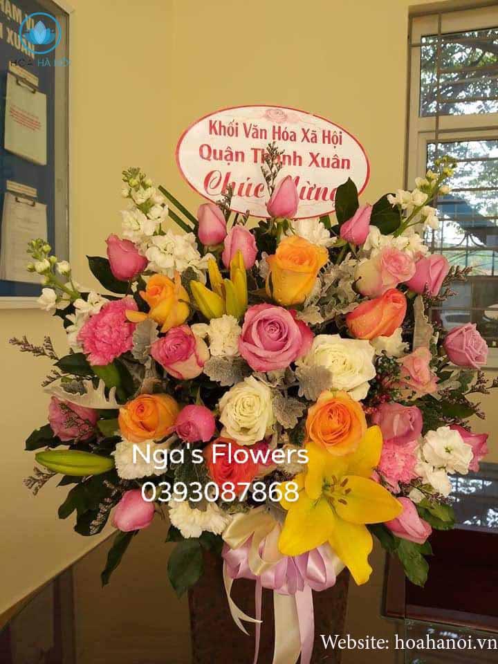 Một số mẫu hoa mới tạiNga's Flower 6
