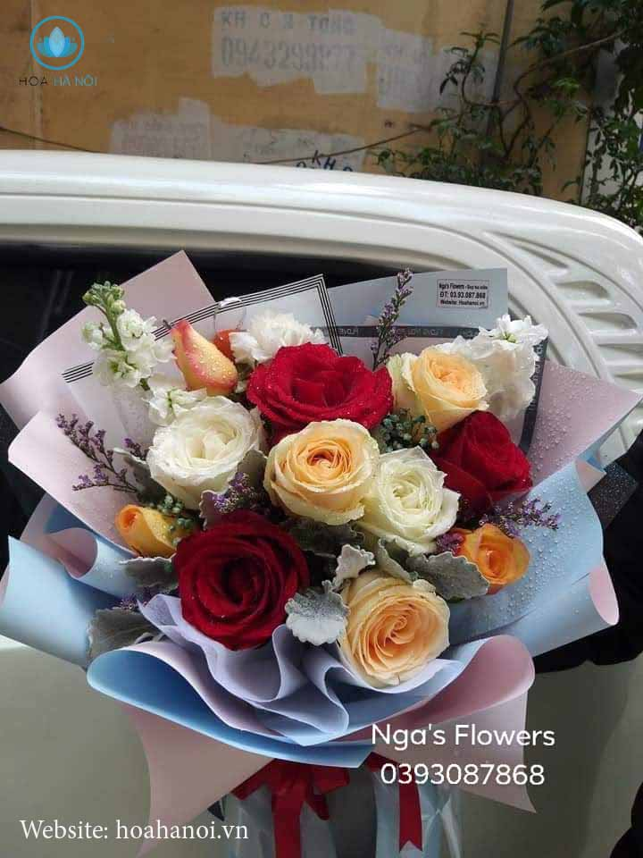 Một số mẫu hoa mới tạiNga's Flower 7