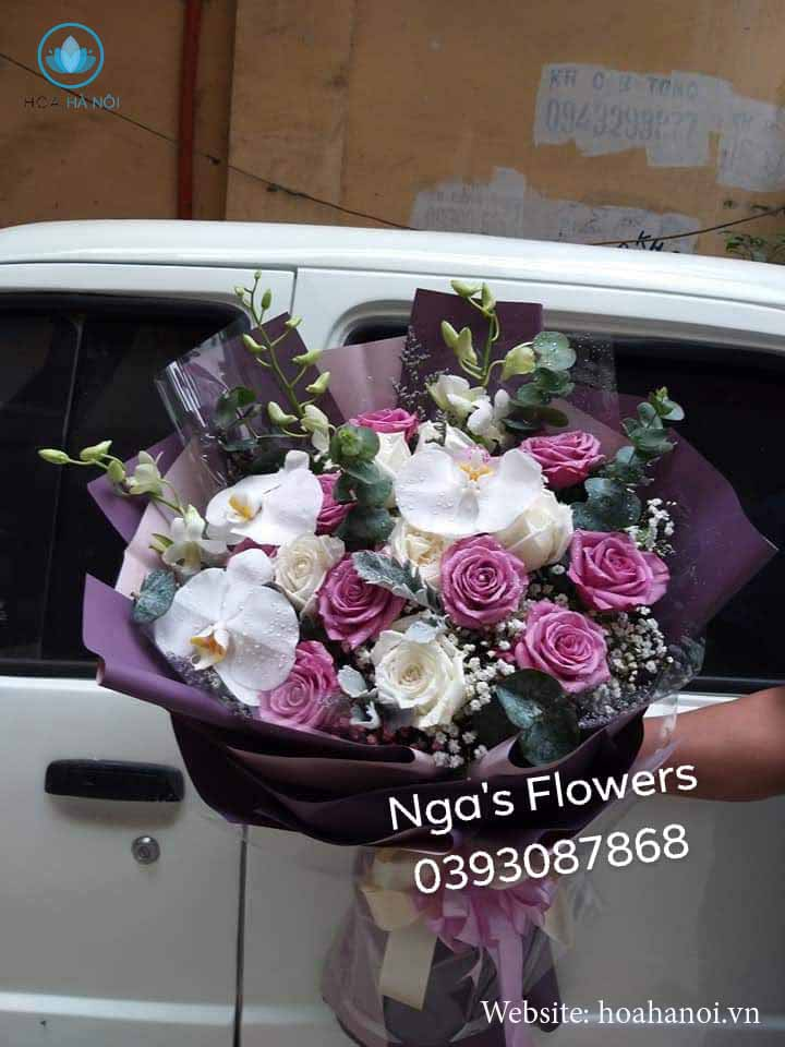 Một số mẫu hoa mới tạiNga's Flower 8