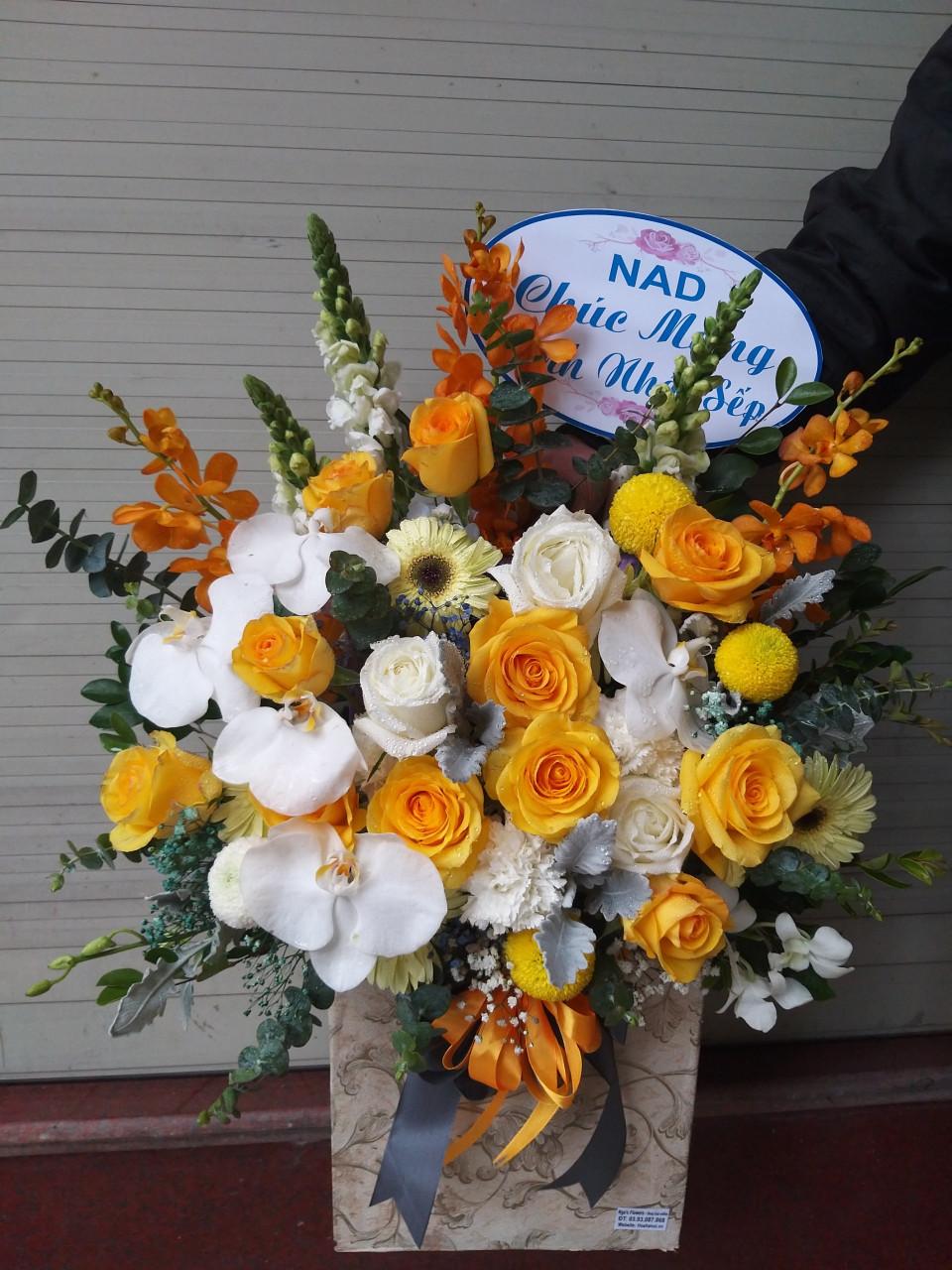 Giỏ hoa - MS299 1