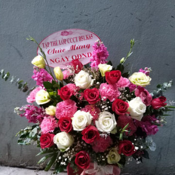Giỏ hoa – MS307