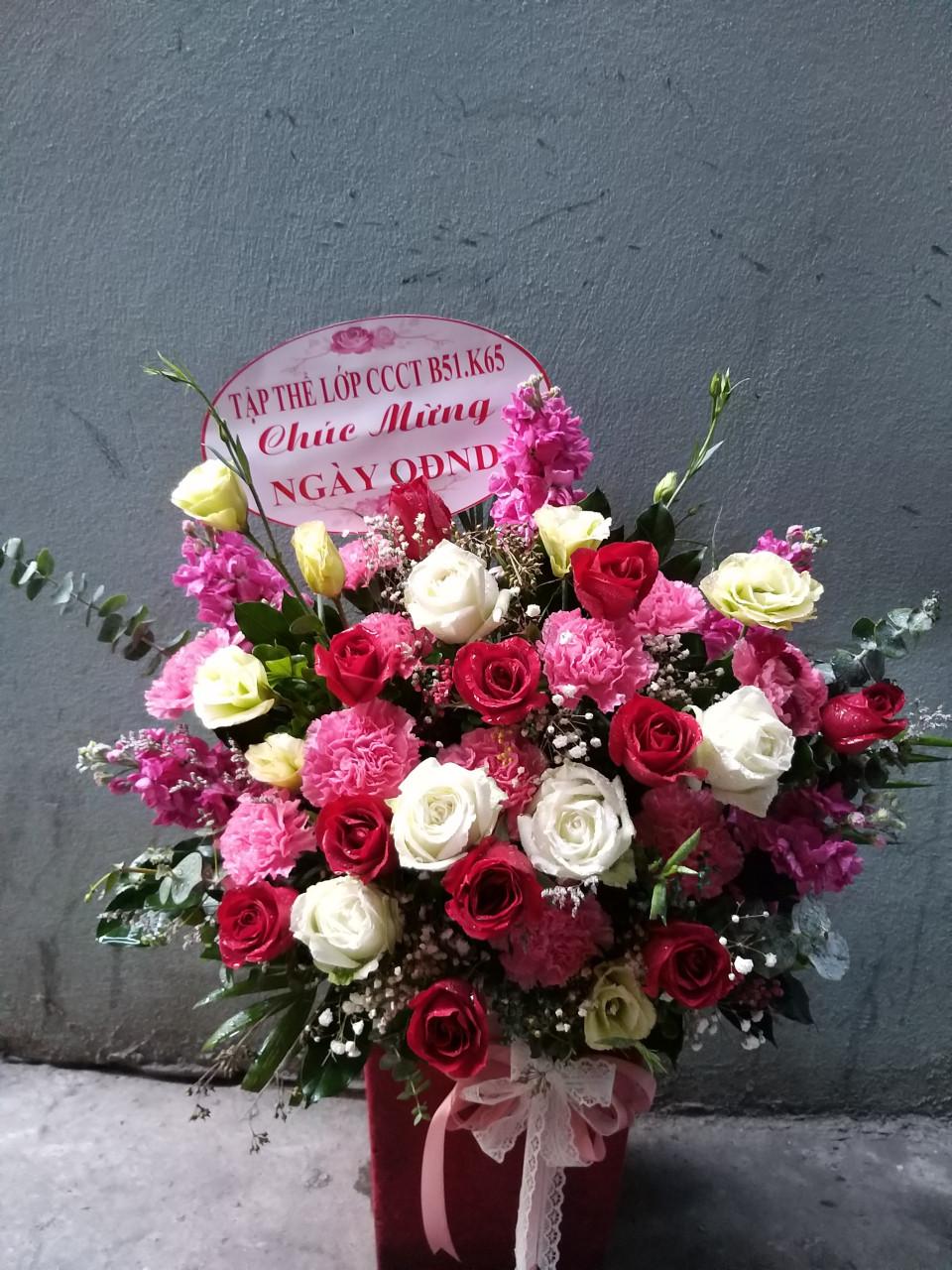 Giỏ hoa - MS307 1