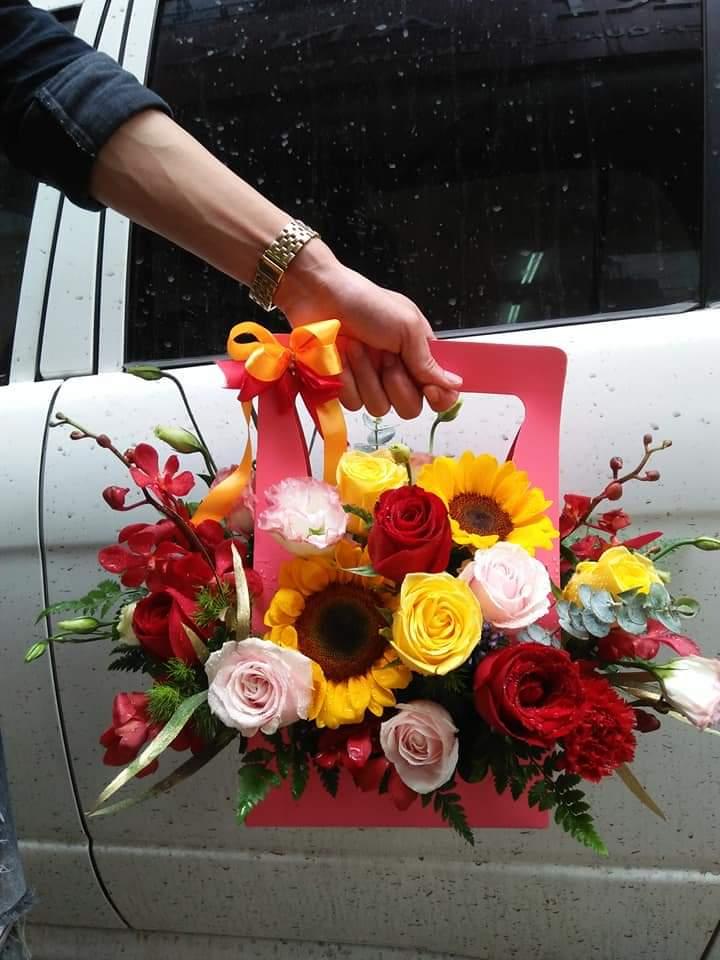 Túi hoa - MS305 1