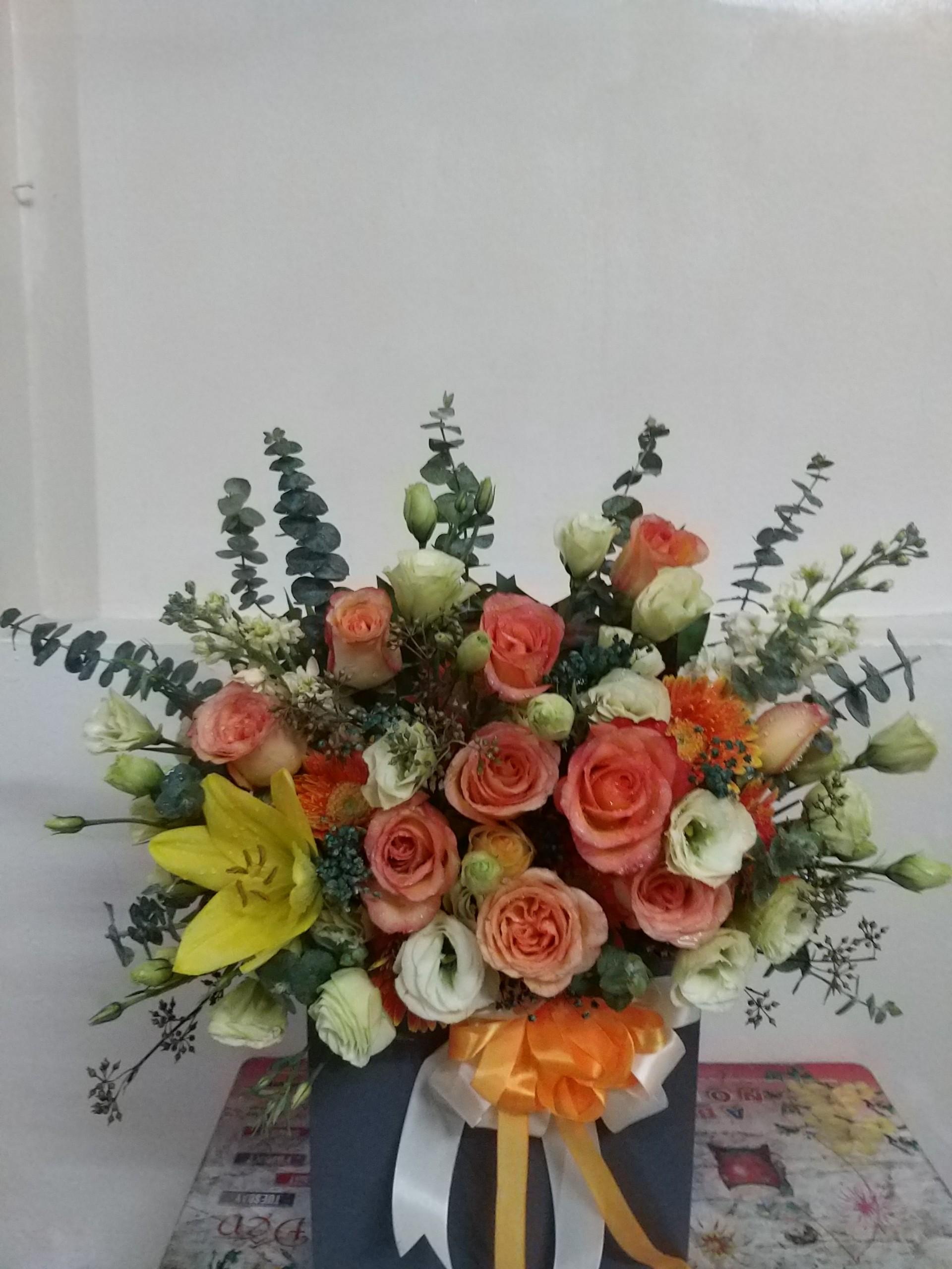 Giỏ hoa - MS311 1