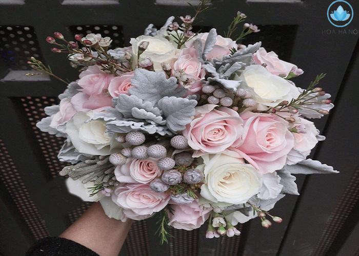 Ý nghĩa sâu xa đằng sau bó hoa cưới cầm tay cho cô dâu 1