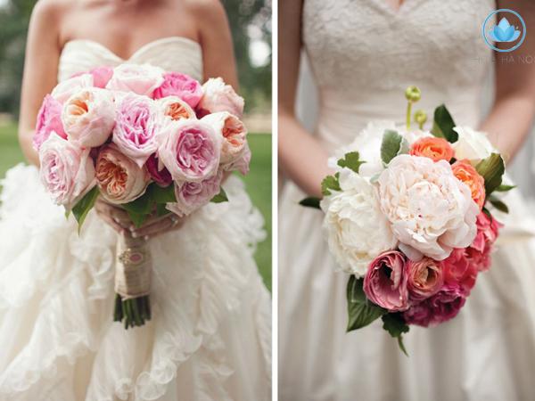 Ý nghĩa sâu xa đằng sau bó hoa cưới cầm tay cho cô dâu 2
